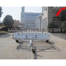 New style ATV trailer with ramp