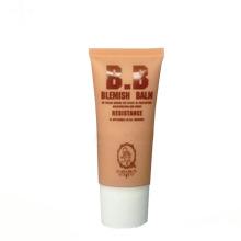 ovale tubes métalliques vide ovale cosmétique bb crème emballage tube