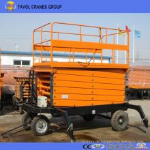 Vertikaler hydraulischer mobiler Scherenhebebühne, Luftarbeitsplattform