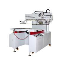 Máquina de impressão de tela de cama plana automática para papel/Ad