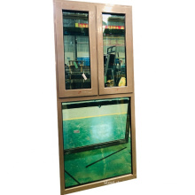 Toughened glass aluminium profile hurricane impact windows casement
