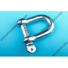 European Type Galvanized Large Dee Shackles Anchor Shackle
