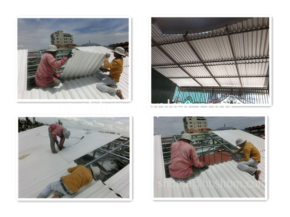 Lightweight Materials Wind Resistance MGO Roof Sheet