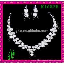 Европейское и американское ожерелье, оптовые ожерелья rhinestone ожерелье