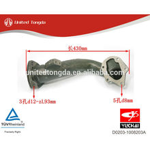 YUCHAI engine YC4D After the turbine exhaust pipe D0203-1008203A