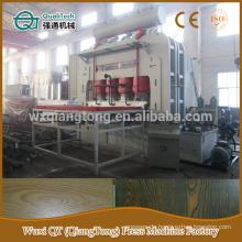 YX1800-6 * 9 Kurzzyklus Laminat Heißpressmaschine / 1830 * 2750mm Melamin Laminat Pressmaschine