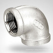 150lb Bsp / NPT Raccord Hydraulique Acier Inoxydable 90 Elbow