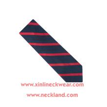 Jacquard Woven 100% seda corbata a rayas