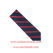 Jacquard Woven 100% Silk Tie Striped