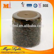 Bougie unique de grain de café de pilier