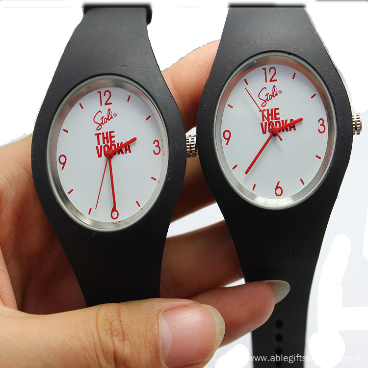 Silicone wrist band watch ICE brand watches