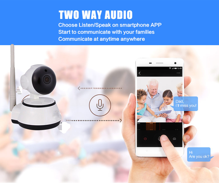 two way talk ip camera