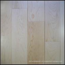 Suelos de madera maciza de arce para uso en interiores