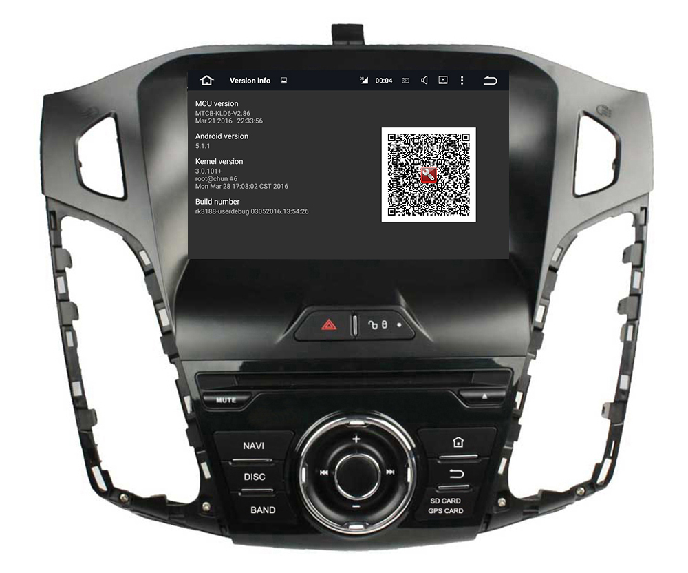 Car Multimedia DVD player for Ford Focus 2012
