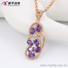 Fashion Elegant Nice -Quality Women Gold Jewelry Alloy Necklace Chain with Diamond -42881