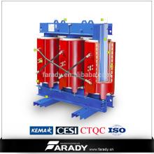 Transformateur de puissance électrique à sec de 1500kva en fonte résineuse Fabricant de SCB10