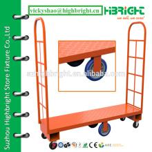 warehouse steel narrow aisle platform truck
