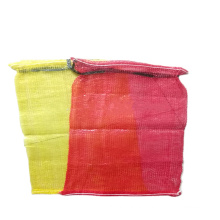 Cheap red yellow color plastic mesh netting bags for fruit vegetables garlic packaging mesh net bag