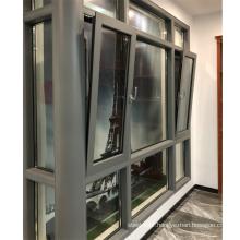 Double glazed aluminium windows powder coating beautiful design tilt and turn windows