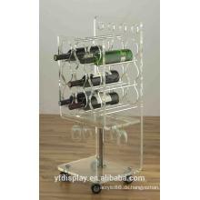 Acryl Weinflasche Display Rack