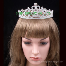 2016 Bride Crystal Tiara Blanco Rhinestone Corona