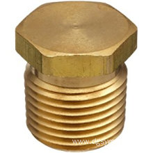Hex Head plug pin brass cnc machining