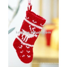 Weihnachtsbaumwollsocken