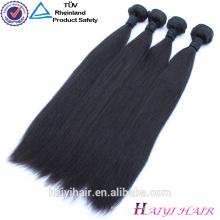 Cuticle Aligned Straight Grade 10A 100 Human Raw Unprocessed Virgin Peruvian Hair In China