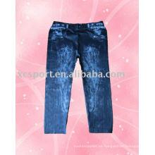 Pantalones impresos para mujer de diseño de moda