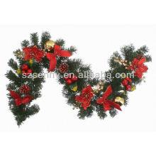 Heißer Verkauf Faser optische Weihnachtsgirlande