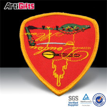Promotional products embroidery poker patch
