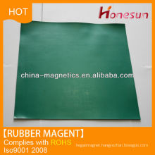 Colorful rubber magnet sheet /strips for shower from china supplier