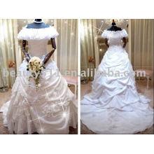 Superbe nouvelle robe de mariée de mariage de conception de qualité supérieure RB065