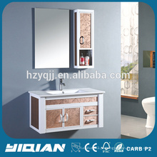 Armário de banheiro de alumínio com espelho de parede pendurada