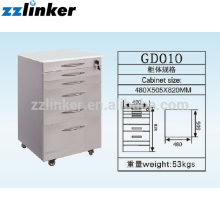 Colorful Dental Cabinet with 6 Drawer GD010