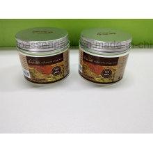 Kosmetisches Creme-Glas der Creme-150ml mit dem Aufkleber hergestellt in Yuyao