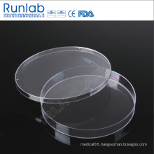CE Approved 150*15mm Disposable Plastic Culture Petri Dish