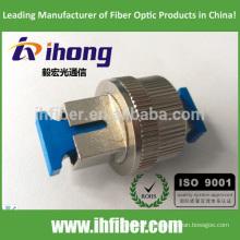 SC / UPC Singlemode Optical mecânico ajustável Atenuador 0-30db