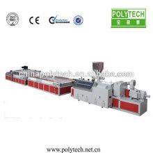 Настройка экструдера и плесени для сделать древесины пластиковый профиль экструзии машина /Co-extrusion машина