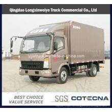 2 тонн легких грузовиков компания sinotruk HOWO перевозит на свет грузовой автомобиль