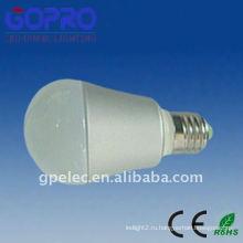 ПВХ и алюминиевые 5W светодиодные лампы