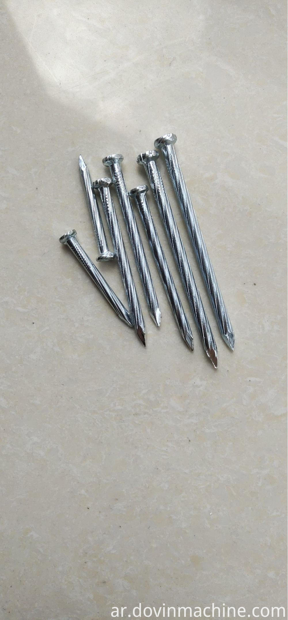 Diagonal Cement Steel Screw