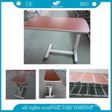 AG-Obt001 Over Bed Table Wooden Surface Hospital Table