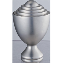 Golden Cup Curtain Rod Finial