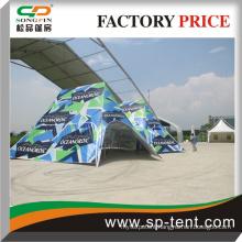 steel frame waterproof warehouse tent with roll door for sale