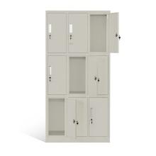 Раздевалка 9 двери стальные шкафчики для спортзала