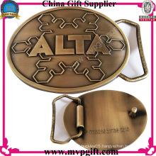 Metal Belt Buckle with Antique Color Fashion