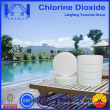 Free Samples Chlorine Dioxide Tablet for Swimming Pool Treatment and Maintenance