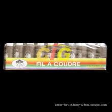 40/2 de alta qualidade fio de costura de poliéster em caixa de papel