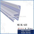 Belyn clear plastic shower door seal strip and glass screen